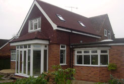 House extension in Derbyshire